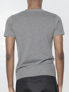 Tight Crew Tee in Heather Grey by Oak OOS
