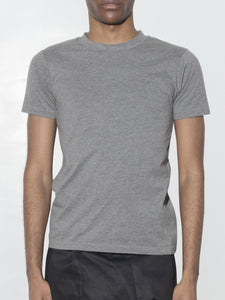 Tight Crew Tee in Heather Grey by Oak