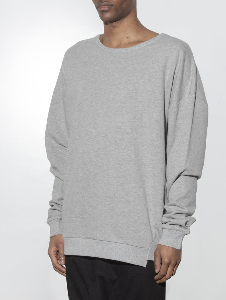 Arc Sweatshirt in Heather Grey by Oak