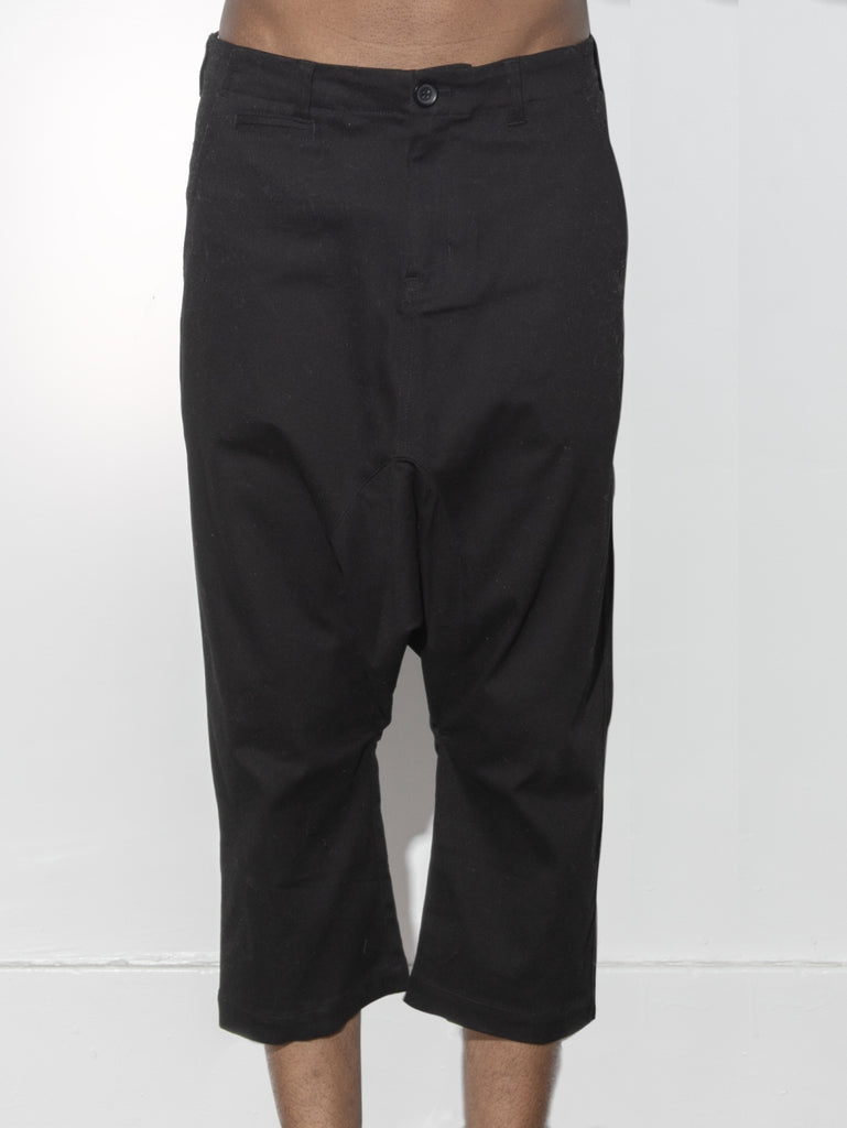 Dropped Taper Pant in Black by Oak