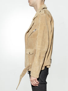 NY Suede Roamer Jacket in Camel by Oak OOS