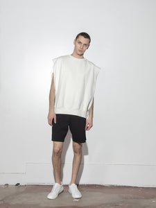 Sideless Pullover in Chalk by Oak