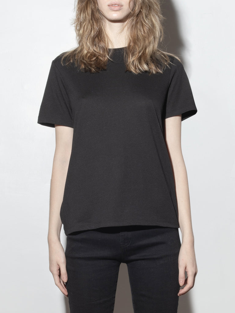 Load image into Gallery viewer, A/OK Relaxed Tee in Black