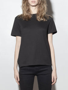 A/OK Relaxed Tee in Black in Black by A/OK OOS