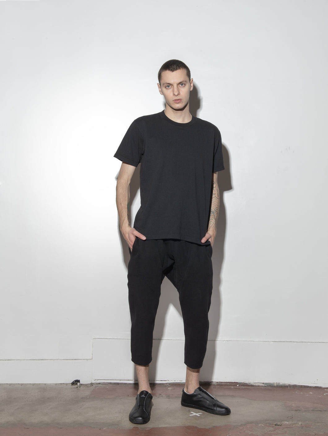 Cropped Karate Sweat Pant