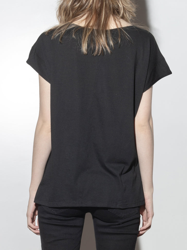Load image into Gallery viewer, Drop Sleeve Cap Tee