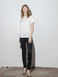 A/OK Relaxed Tee in Off White in Off White by A/OK OOS