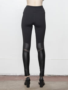 A/OK Panel Legging in Black in Black by A/OK OOS