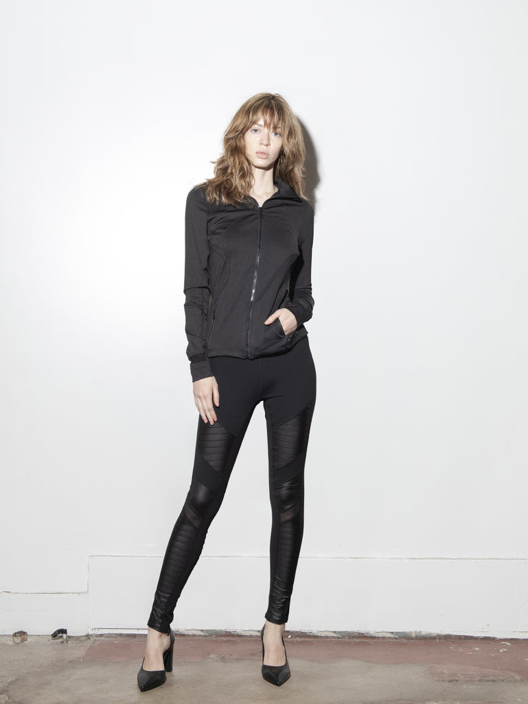 Load image into Gallery viewer, A/OK Curve Jacket in Black