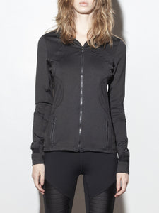 A/OK Curve Jacket in Black in Black by A/OK OOS