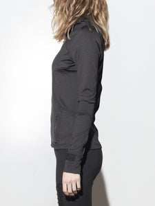 A/OK Curve Jacket in Black in Black by A/OK