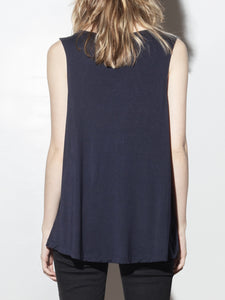 Oversized A-Line Tunic in Midnight by A/OK OOS