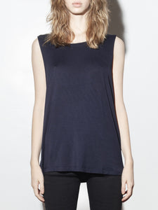 Oversized A-Line Tunic in Midnight by A/OK