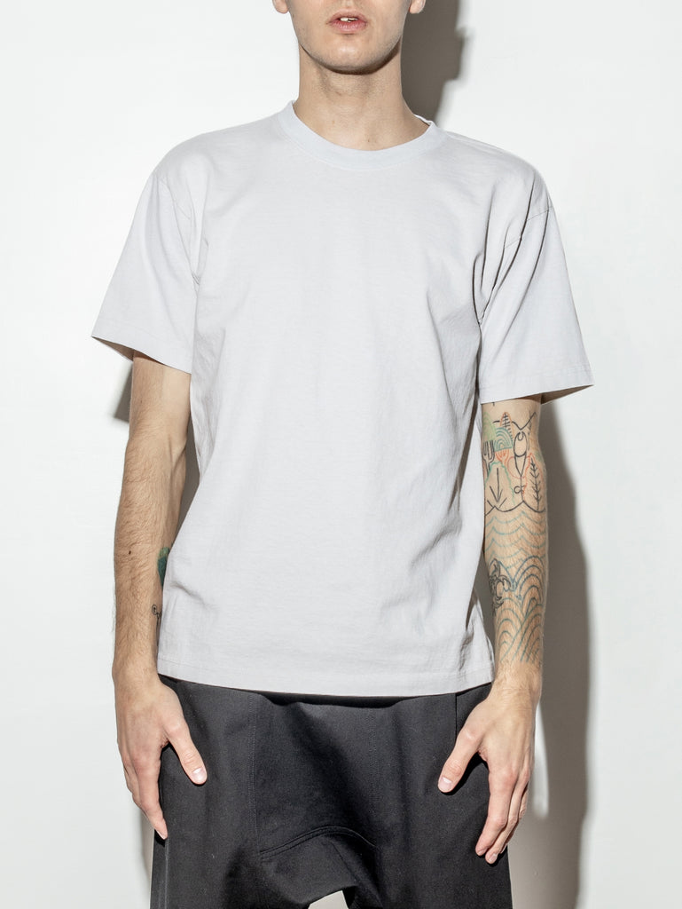 Standard Crew Tee in Cement by OAK