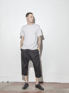 Cropped Karate Pant in Black by Oak