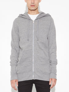 Oak Slouch Hoodiein Heather Grey in Heather Grey by Oak