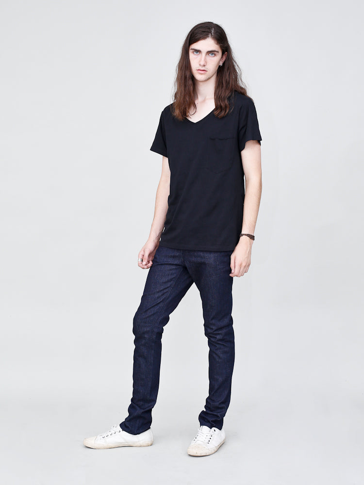 Mid Skinny Jean in Indigo by OAK