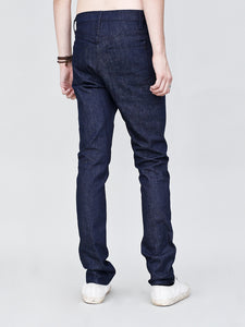 Mid Skinny Jean in Indigo by OAK in Indigo by Oak OOS