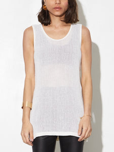 Oak Mesh Tank in Natural in Natural by Oak OOS