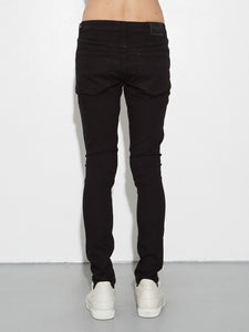 Mid Skinny Jean in Black by OAK in Black by Oak