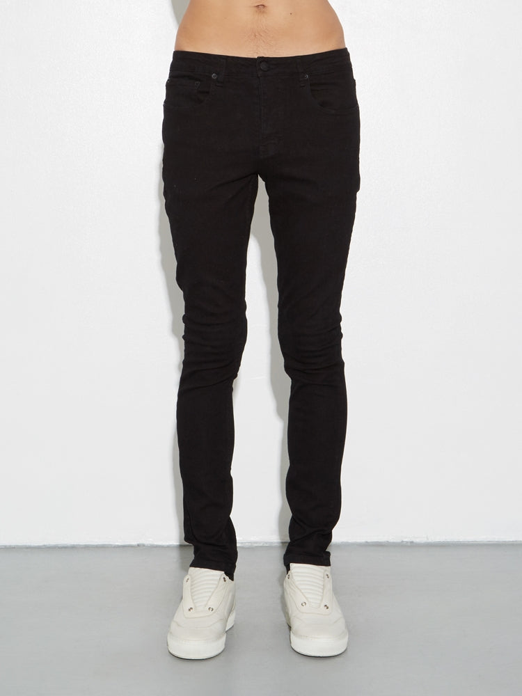 Load image into Gallery viewer, Mid Skinny Jean in Black by OAK