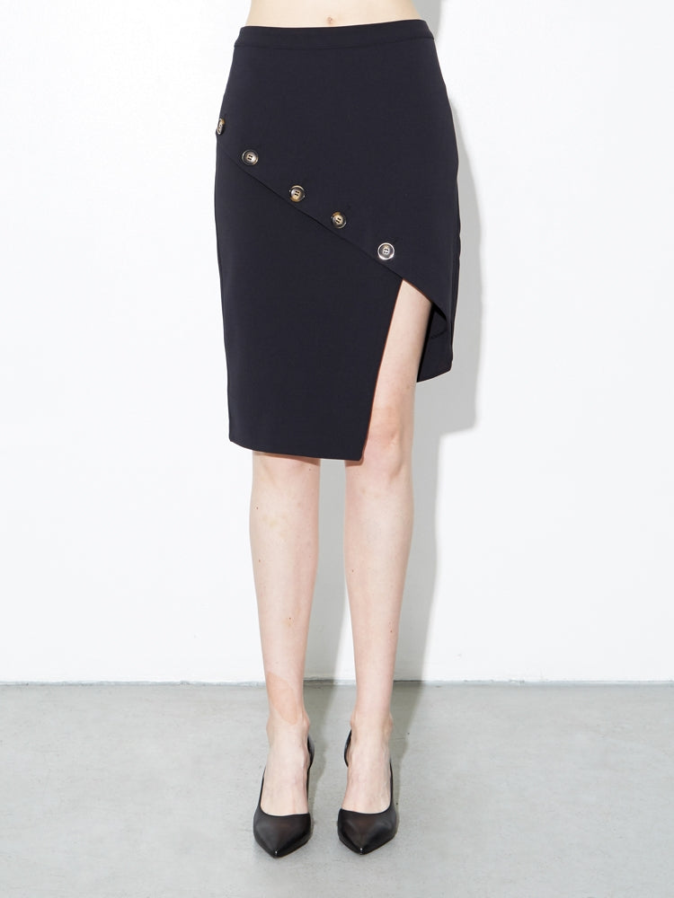 Oak Mott Skirt in Black in Black by Oak