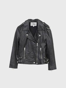 LA Rider Jacket in Black by Oak