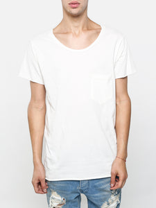 Oak Torque Tee in Bone in Bone by Oak OOS