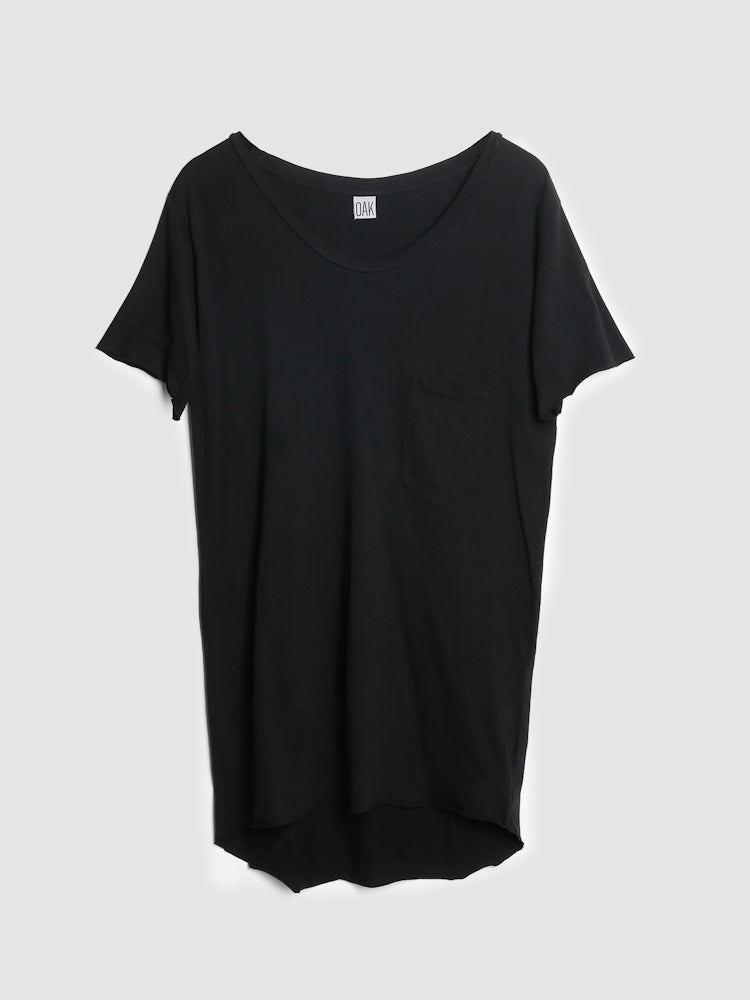 Load image into Gallery viewer, Oak Torque Tee in Black