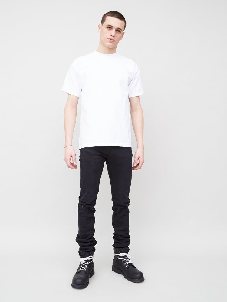 Oak Basic Tee in White