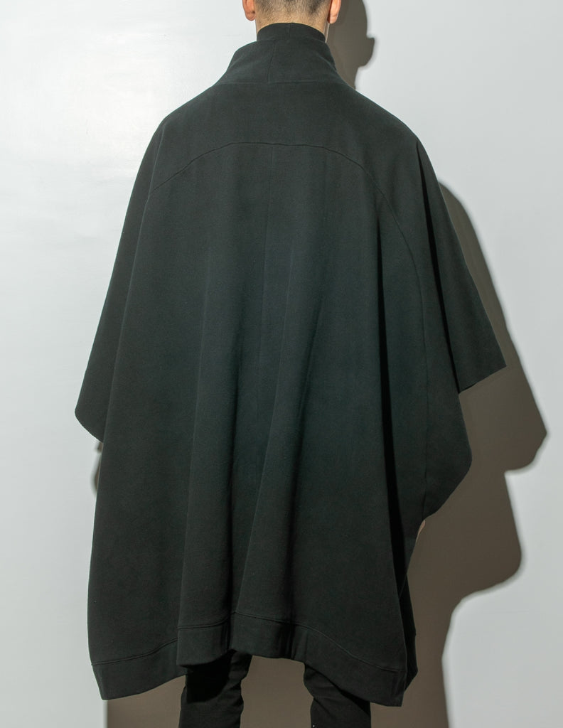 Load image into Gallery viewer, Wayne Poncho in Black by OAK