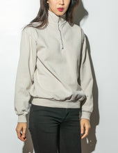 Load image into Gallery viewer, Oak Half Zip Pullover in Cement