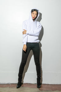 Oak Standard Hoodie in Chalk in Chalk by Oak