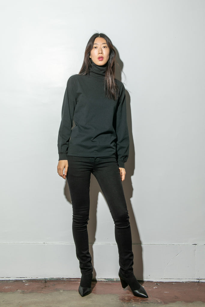 Hawthorne Turtleneck in Black by Oak in Black by Oak