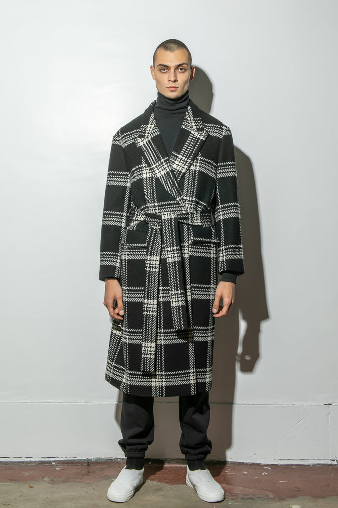 Load image into Gallery viewer, Belted Overcoat