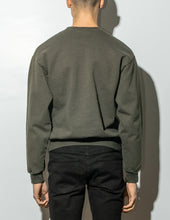 Load image into Gallery viewer, Oak Standard Crew Sweatshirt in Fatigue