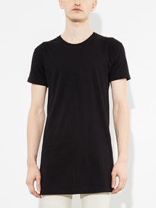 Washed Tee in Black by Oak