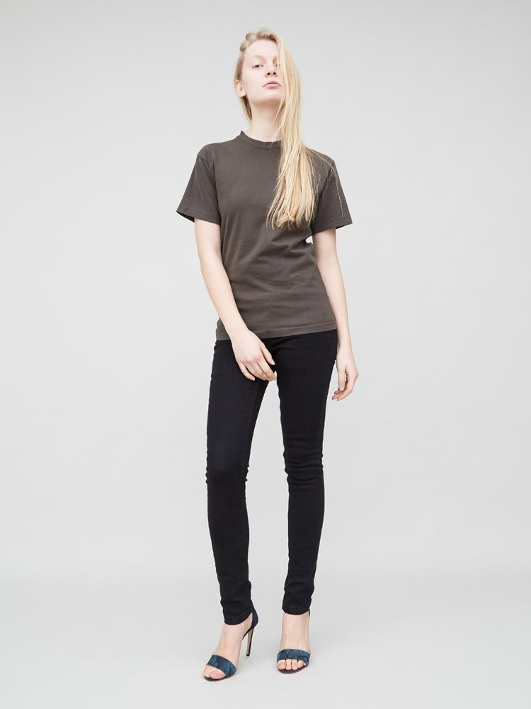 Basic Tee in Fatigue by Oak