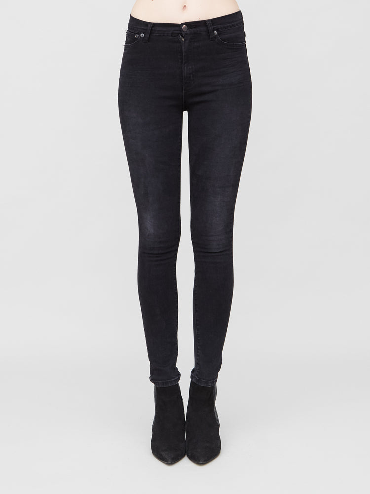 Load image into Gallery viewer, Mid Slim Jean in Ash Wash by OAK