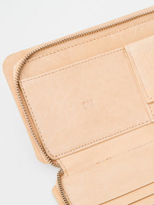 Oak Stagg Large Wallet in Natural in Natual by Oak OOS