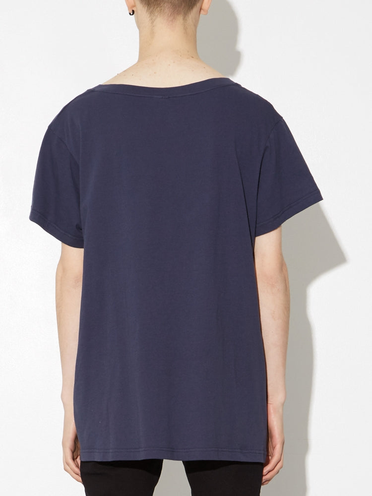 Load image into Gallery viewer, Oak Oversize V Tee In Midnight