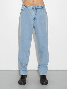 Oak Pleated Baggy Jean in Blowout in Blowout by Oak OOS