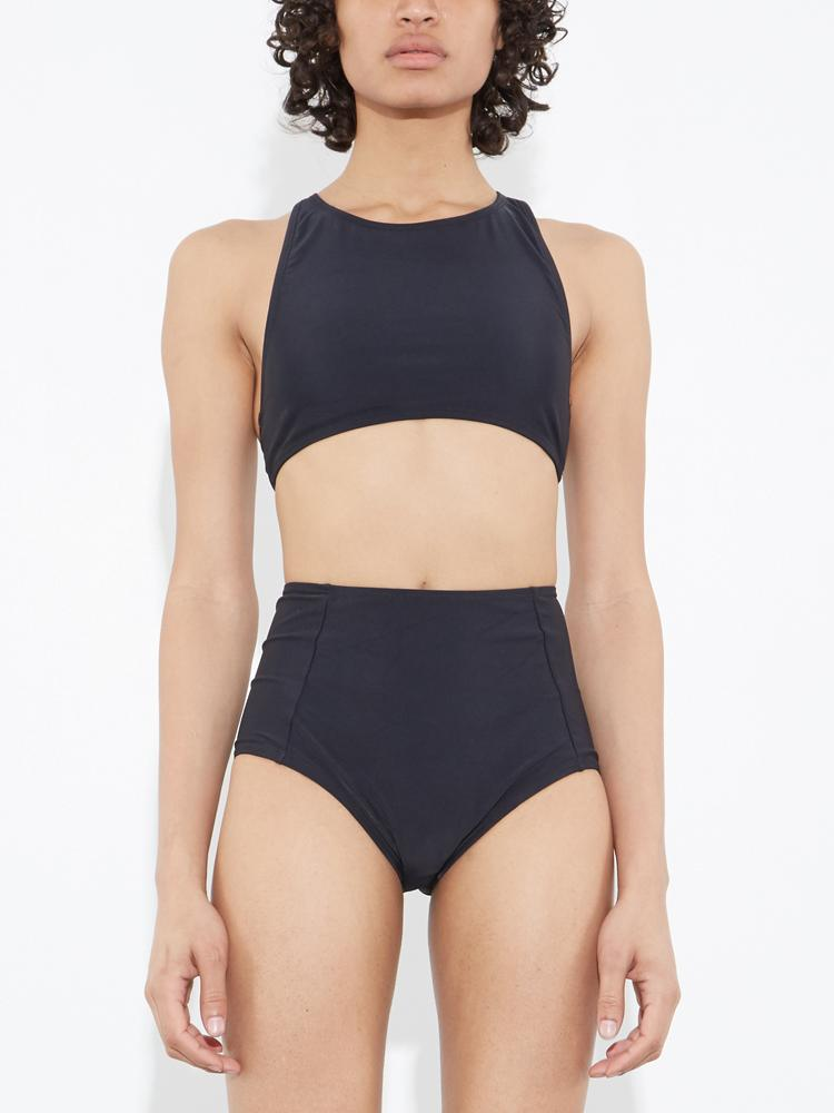 Load image into Gallery viewer, Racer Back Swim Top