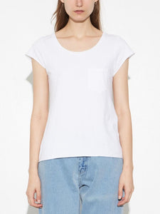 Reform Tee in White by Oak OOS