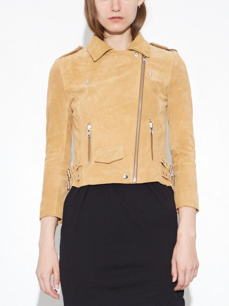 Load image into Gallery viewer, NY Suede Rider Jacket