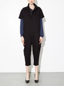 Oak Seigel Jumpsuit in Black in Black by Oak