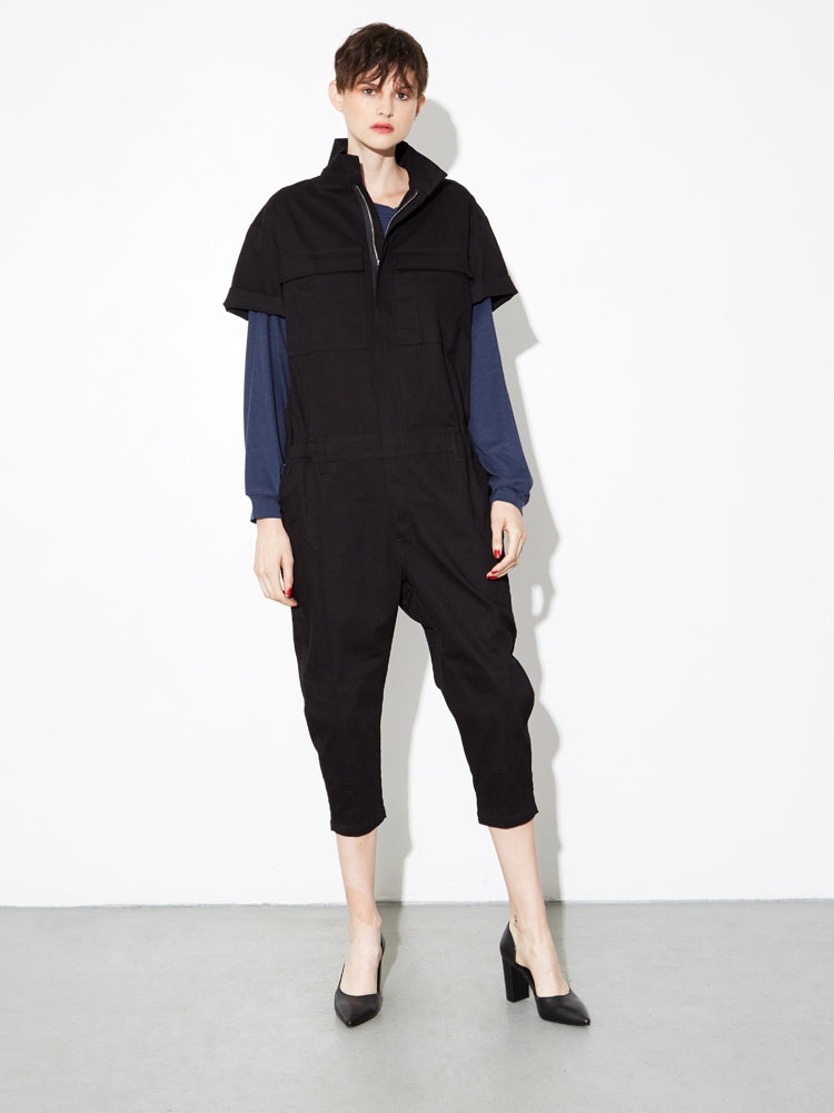 Oak Seigel Jumpsuit in Black
