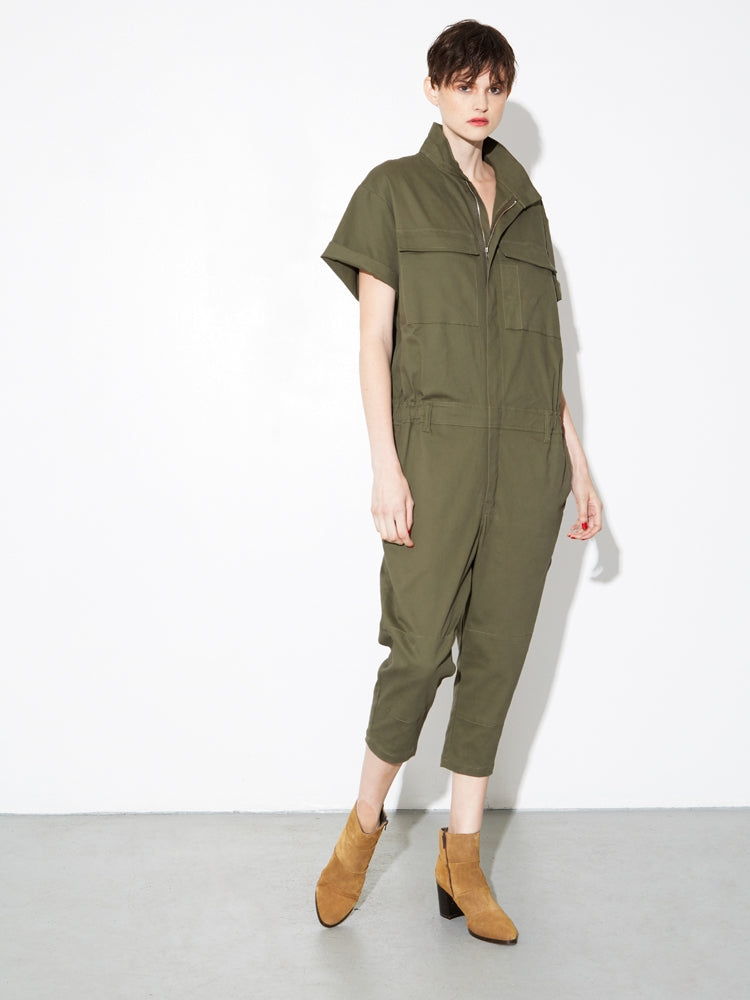 Oak Seigel Jumpsuit in Fatigue