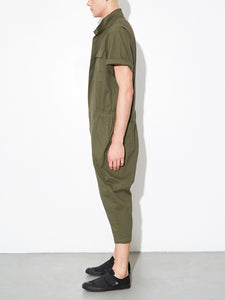 Oak Seigel Jumpsuit in Fatigue in Fatigue by Oak