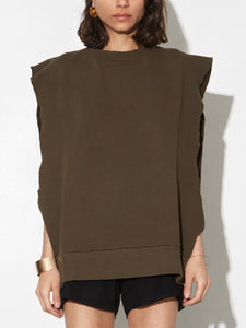 Sideless Pullover in Fatigue by OAK in Fatigue by Oak